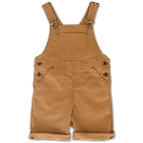 Porter Short Dungarees in Tan by Monty & Co