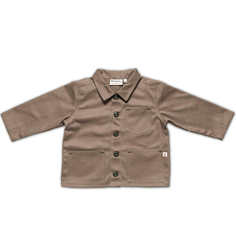 Foundry Jacket in Khaki by Monty & Co - Junior Edition
