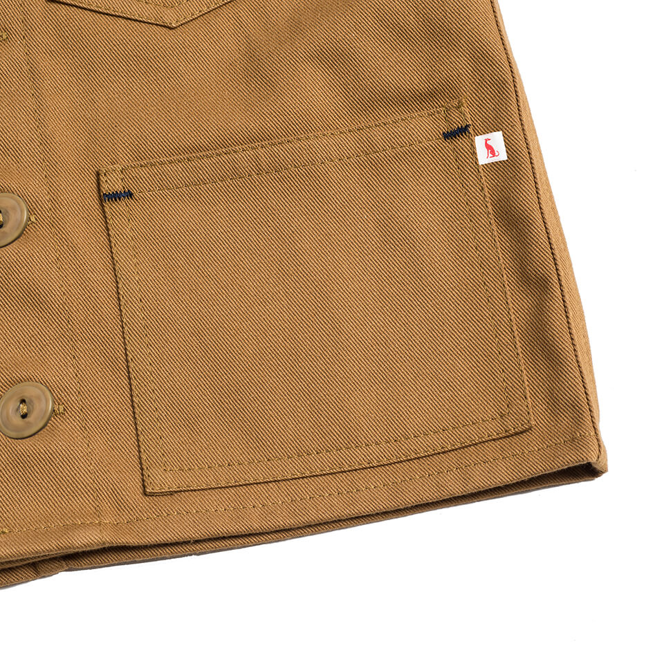 Foundry Jacket in Tan by Monty & Co - Junior Edition