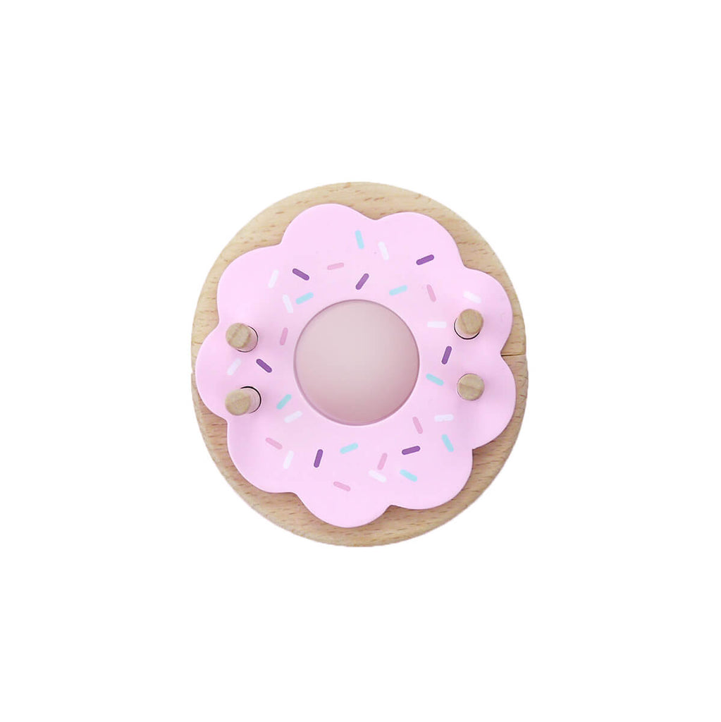 Donut Pom Pom Maker in Strawberry by Pom Maker - Junior Edition