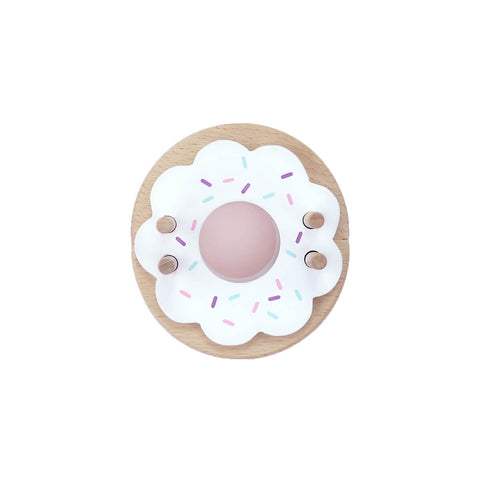 Donut Pom Pom Maker in Vanilla by Pom Maker