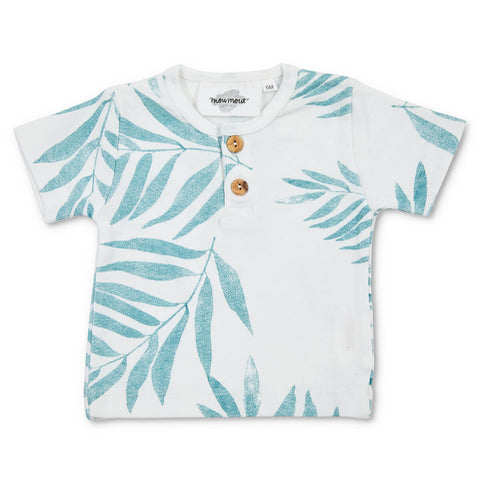 Noe Baby T Shirt in Palme by My Moumout