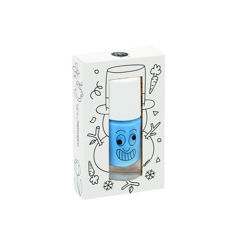 Nail Polish in Freezy (Sky Blue) by Nailmatic Kids