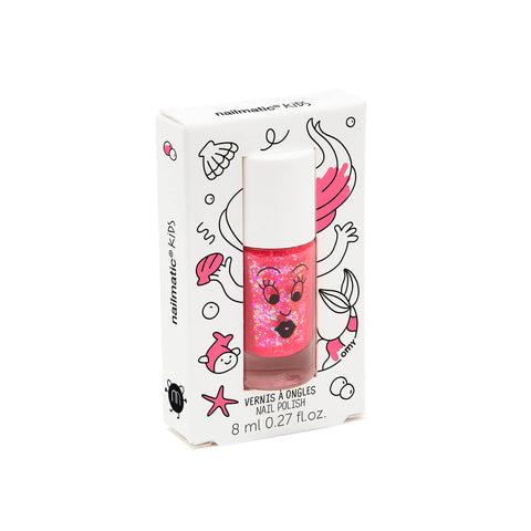 Nail Polish in Sissi (Pink Glitter) by Nailmatic Kids