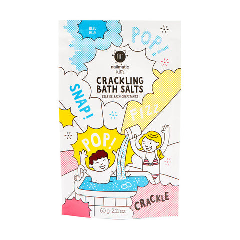 Crackling Bath Salts in Blue by Nailmatic Kids