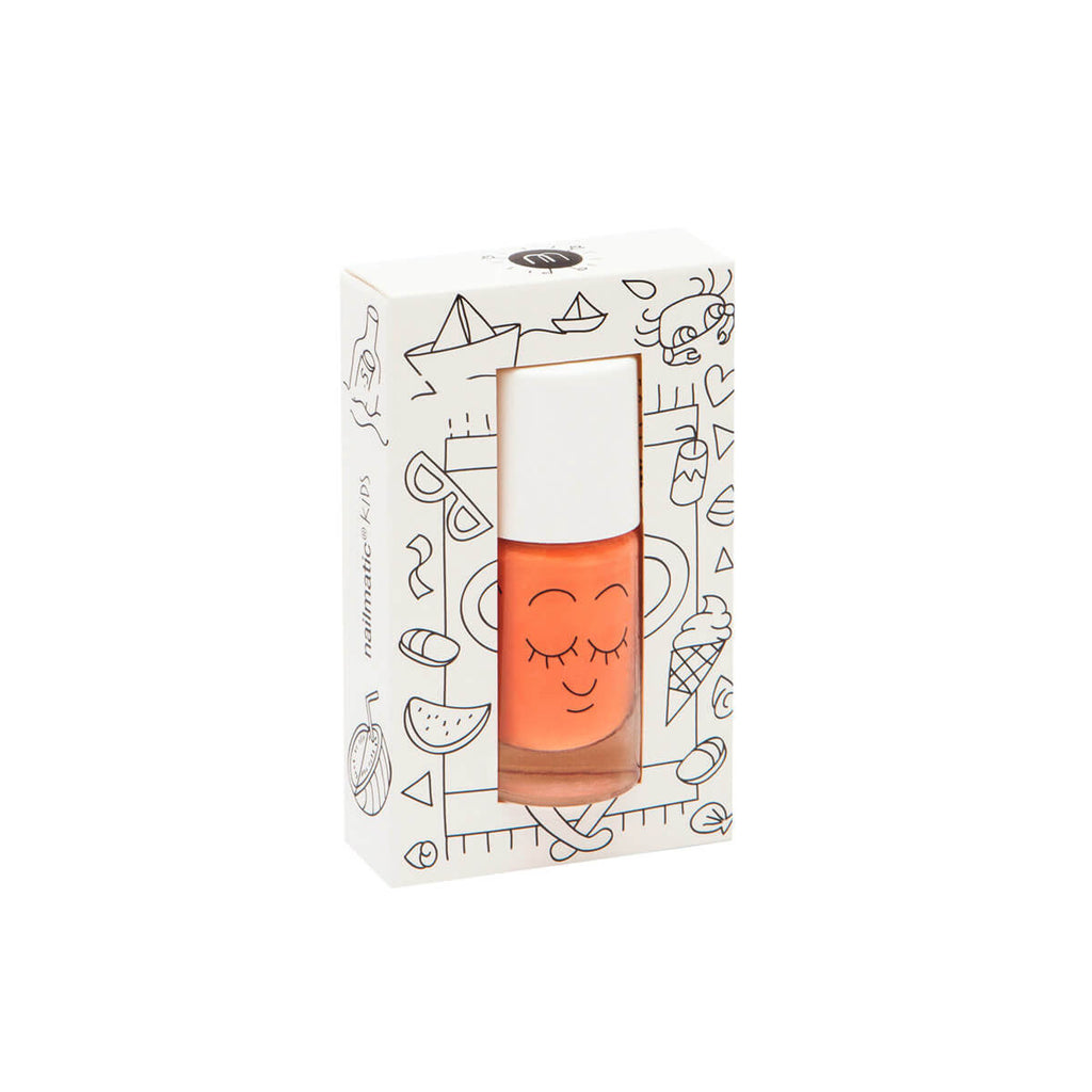 Nail Polish in Dori (Orange) by Nailmatic Kids - Junior Edition