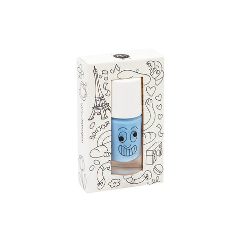 Nail Polish in Gaston (Blue) by Nailmatic Kids - Junior Edition