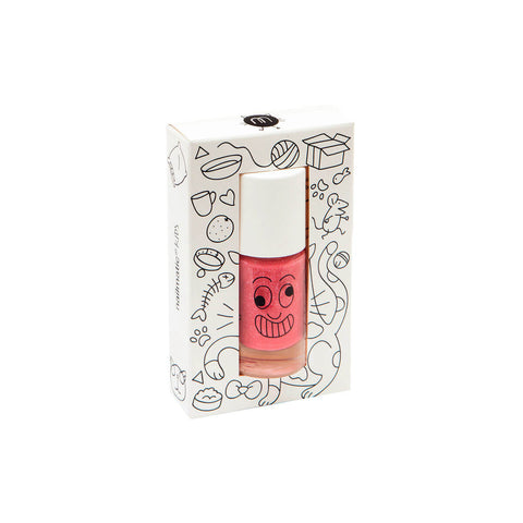 Nail Polish in Kitty (Pink Glitter) by Nailmatic Kids - Junior Edition