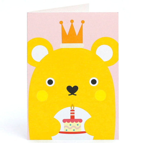 Ricecracker Greetings Card by NooDoll - Junior Edition