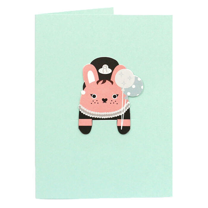 Riceholly Bookmark Greetings Card by NooDoll - Junior Edition