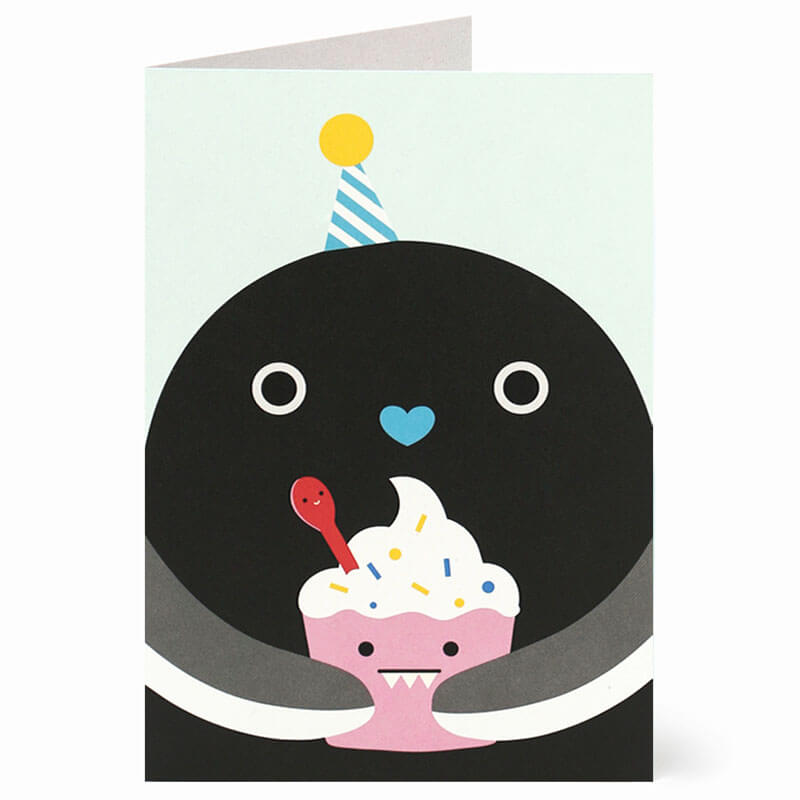 Ricekating Greetings Card by NooDoll - Junior Edition