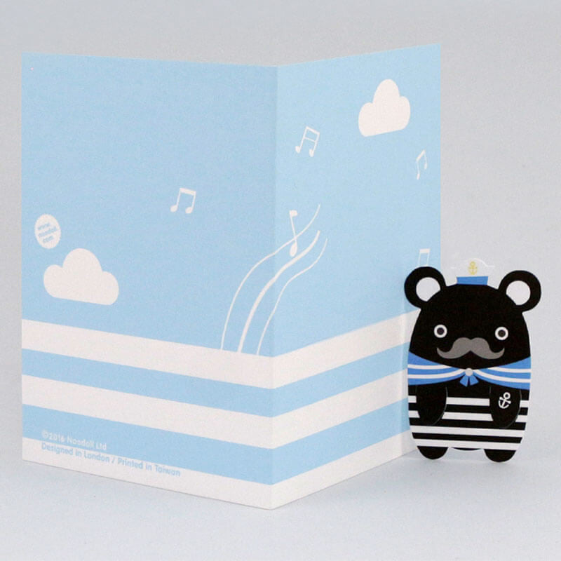 Sailor Melody Bookmark Greetings Card by NooDoll - Junior Edition  - 4