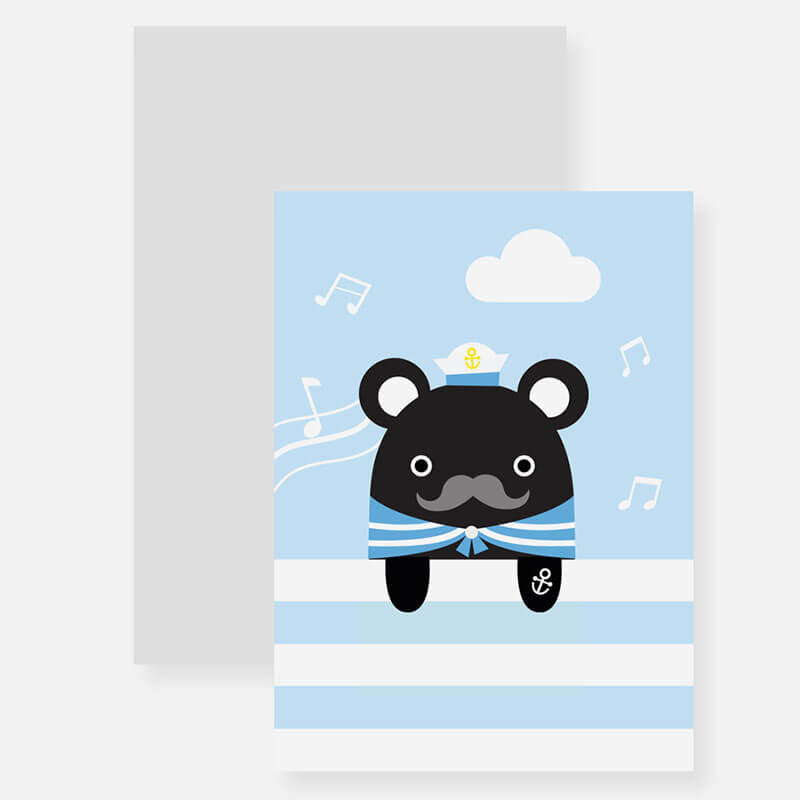 Sailor Melody Bookmark Greetings Card by NooDoll - Junior Edition  - 3