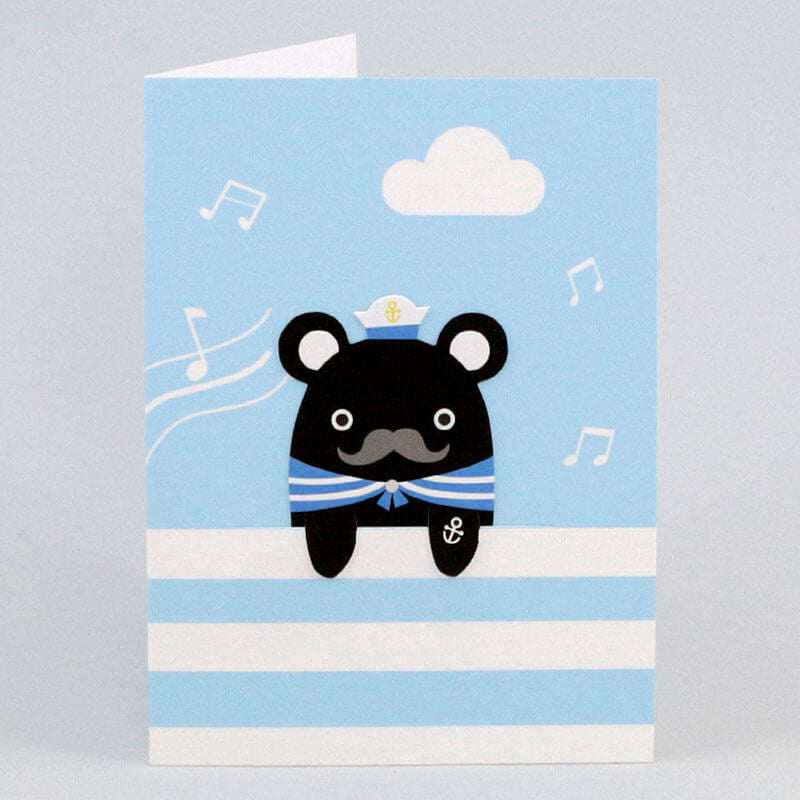 Sailor Melody Bookmark Greetings Card by NooDoll - Junior Edition  - 2
