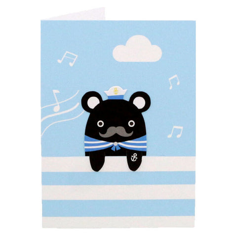 Sailor Melody Bookmark Greetings Card by NooDoll - Junior Edition  - 1