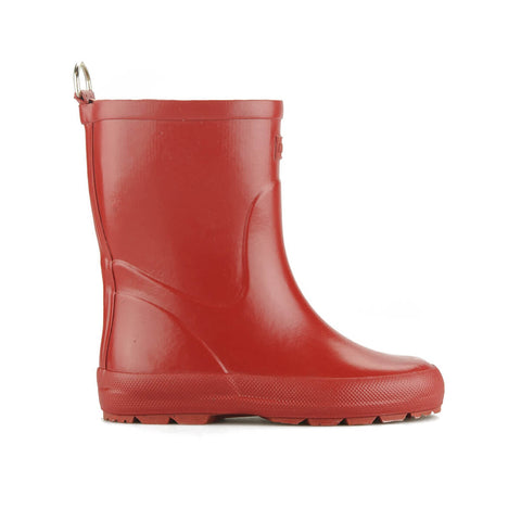 Kiddo Rubber Boot in Red by Novesta