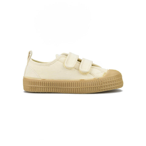 Velcro Star Master Sneakers in Beige / Transparent by Novesta
