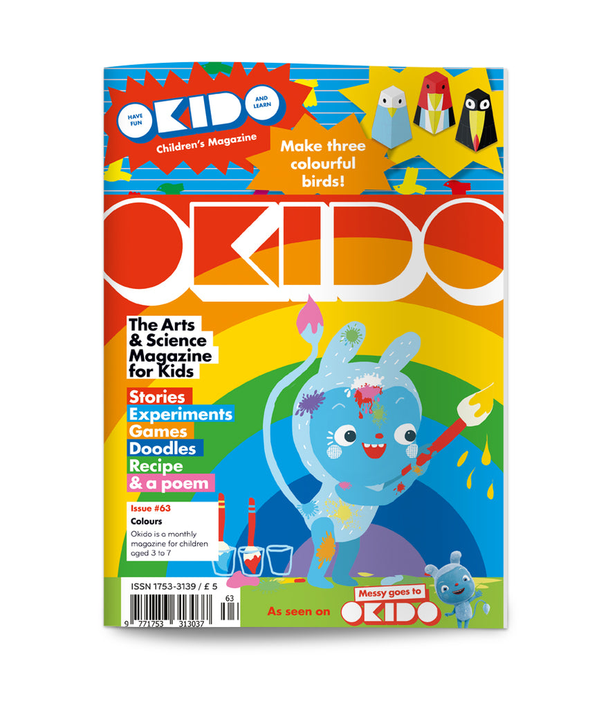 Okido Magazine Issue 63: Colours - Junior Edition