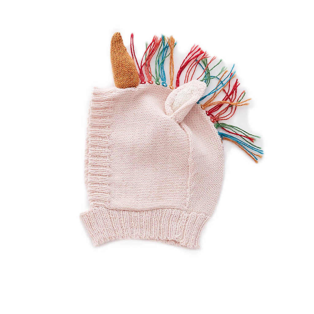 Alpaca Knit Unicorn Hat by Oeuf NYC - Junior Edition