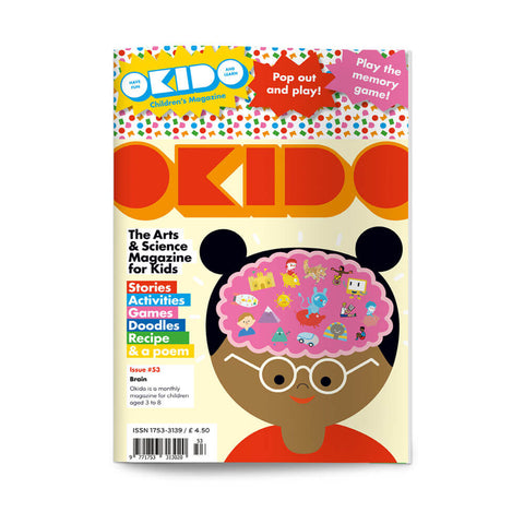 Okido Magazine Issue 53: The Brain