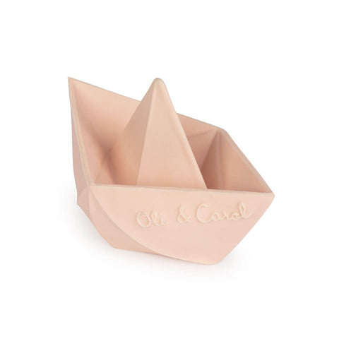 Origami Boat in Nude by Oli & Carol - Junior Edition