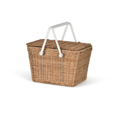 Piki Basket in Natural by Olli Ella - Junior Edition