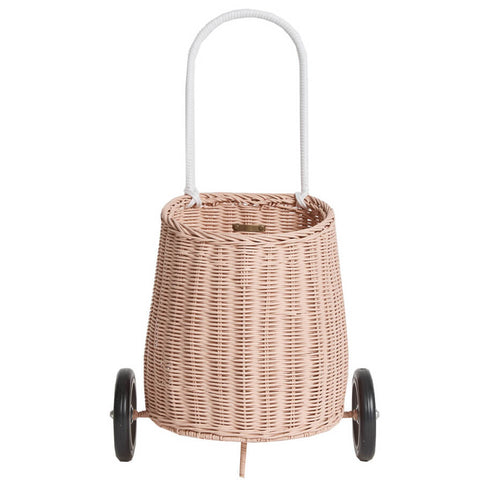 Luggy Basket in Rose by Olli Ella - AVAILABLE IN STORE ONLY