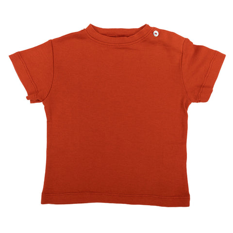 Lupe Baby T Shirt in Chilli by Omibia