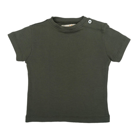 Lupe Baby T Shirt in Seaweed by Omibia
