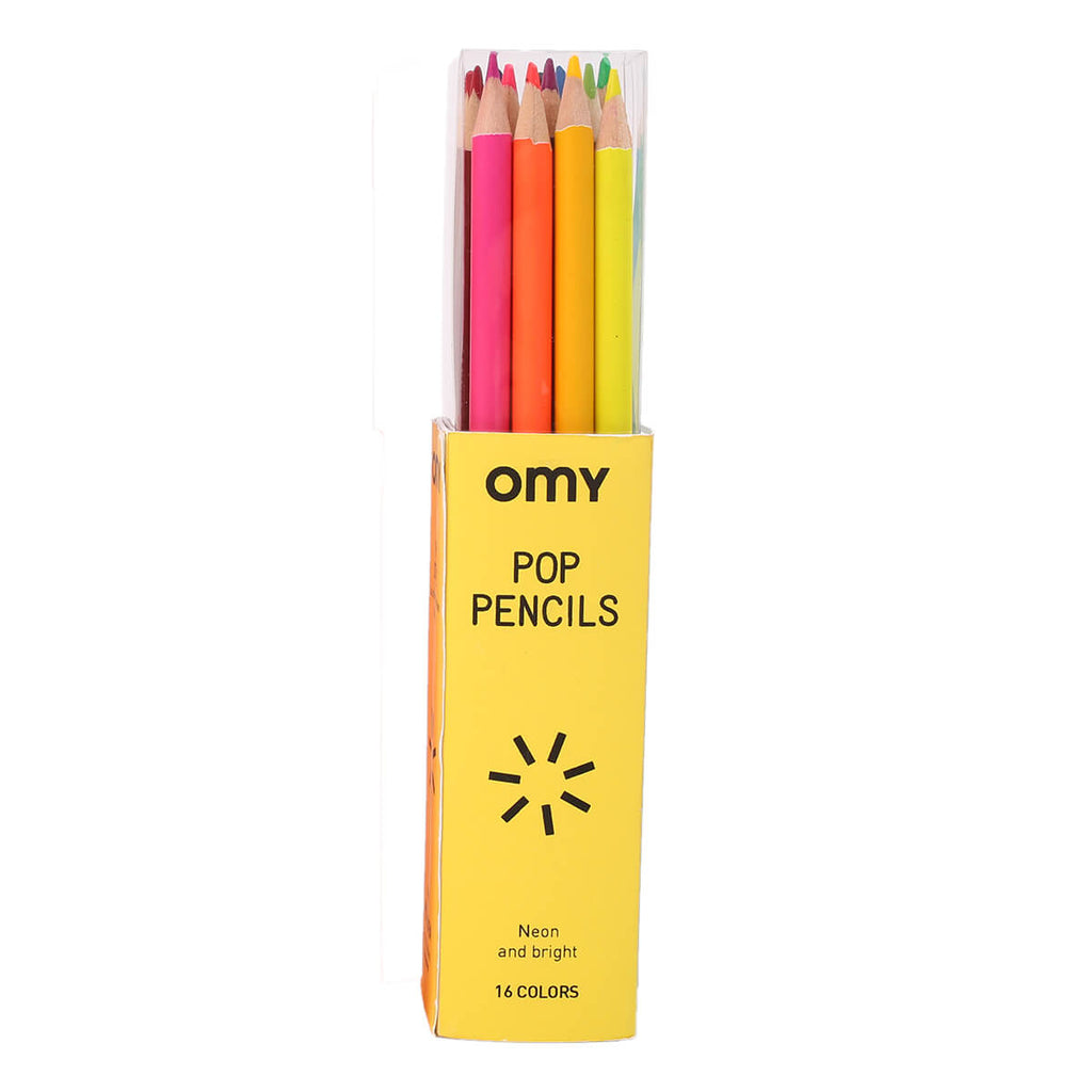 Pop Coloured Pencils by OMY - Junior Edition
