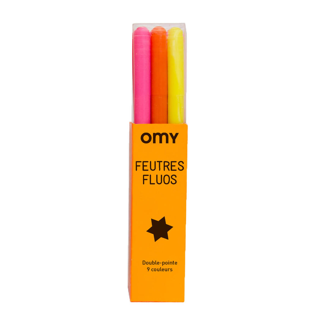 Neon Felt Pens by OMY - Junior Edition