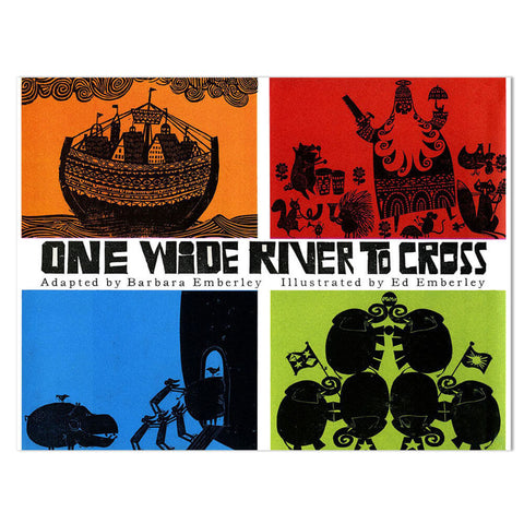 One Wide River To Cross by Barbara & Ed Emberley - Junior Edition