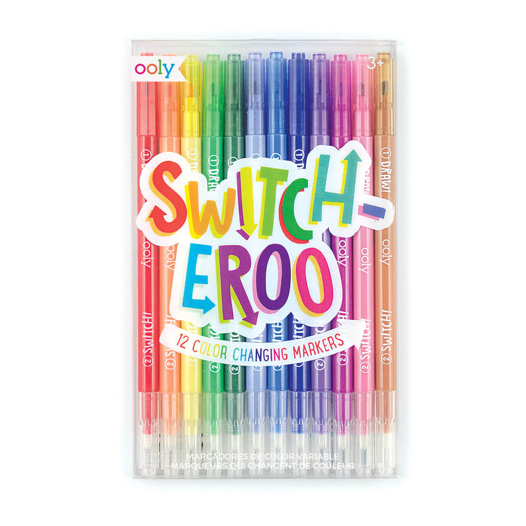 Switcheroo Colour Changing Washable Marker Pens by Ooly - Junior Edition