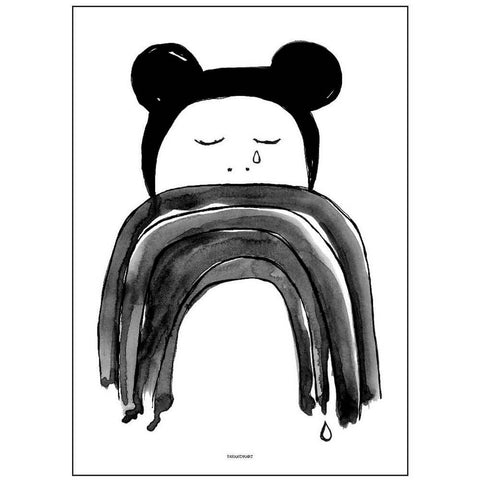 Crying Minnie Print by Pax & Hart - Junior Edition