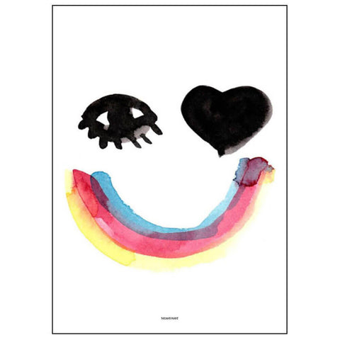 Heart Eyes Print by Pax & Hart - Junior Edition  - 1