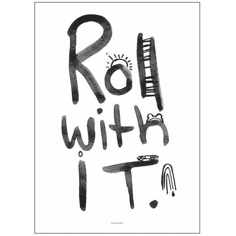 Roll With It Print by Pax & Hart - Junior Edition