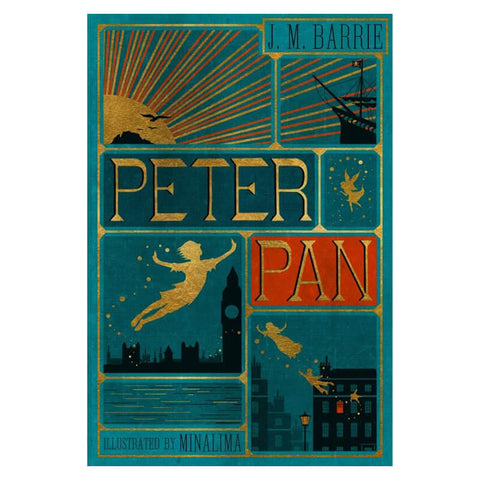 Peter Pan (Collector's Edition) by J.M. Barrie & MinaLima
