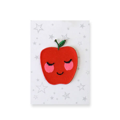 Apple Iron On Patch by Petra Boase