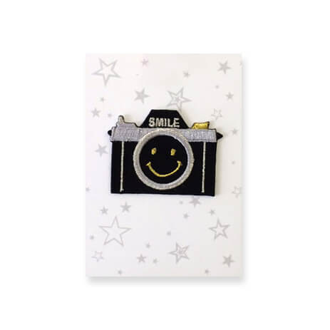 Camera Iron On Patch by Petra Boase - Junior Edition