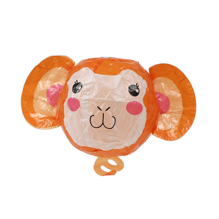 Monkey Japanese Paper Balloon by Petra Boase - Junior Edition