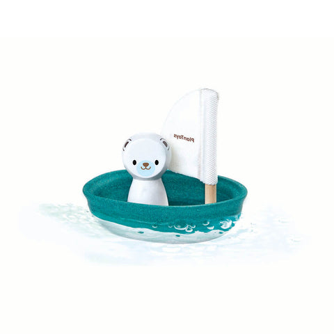 Sailing Boat with Polar Bear by PlanToys