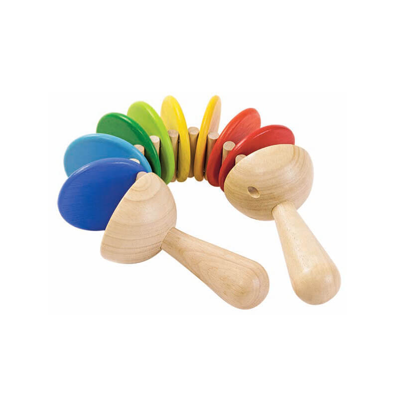 Clatter Rainbow by PlanToys - Junior Edition