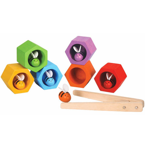 Wooden Beehive Toy by PlanToys - Junior Edition