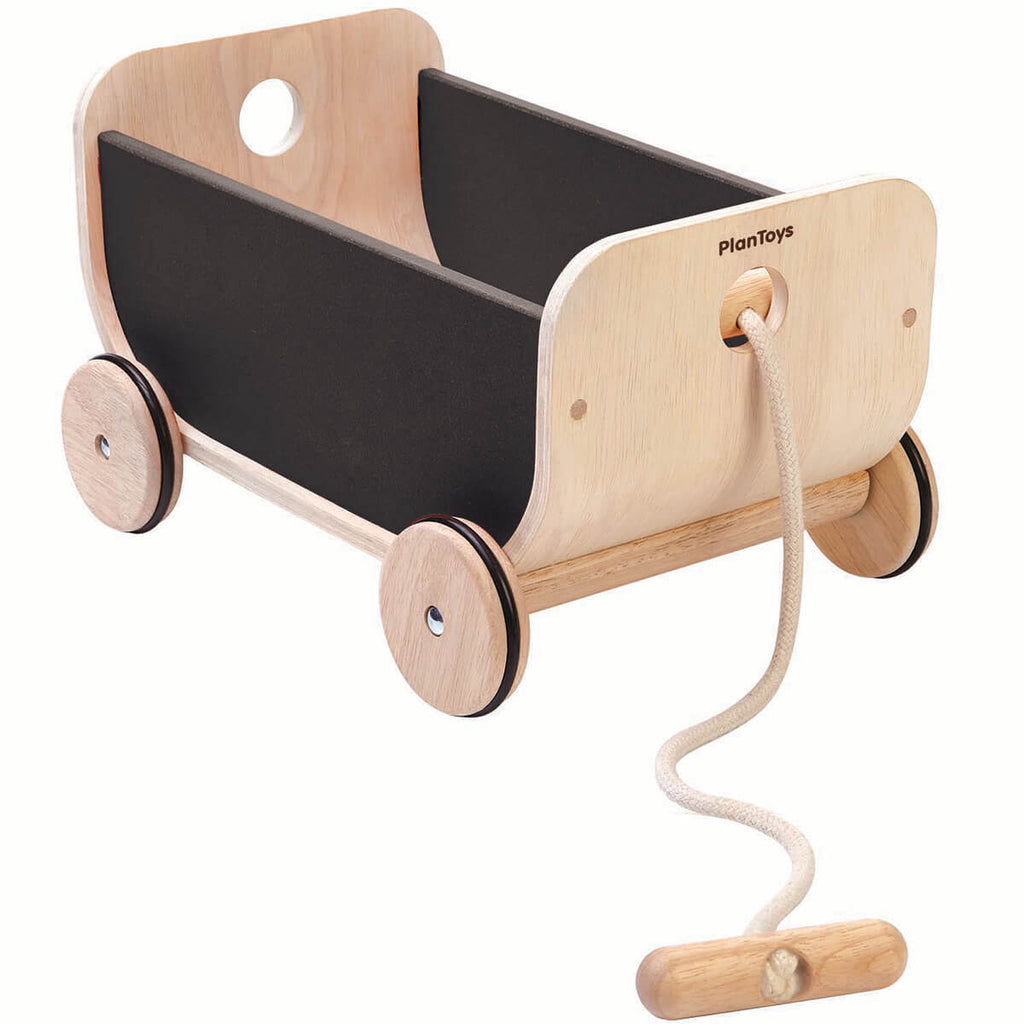 Pull-Along Wagon by PlanToys - Junior Edition