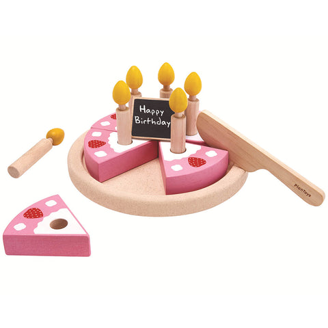 Birthday Cake Wooden Play Set by PlanToys