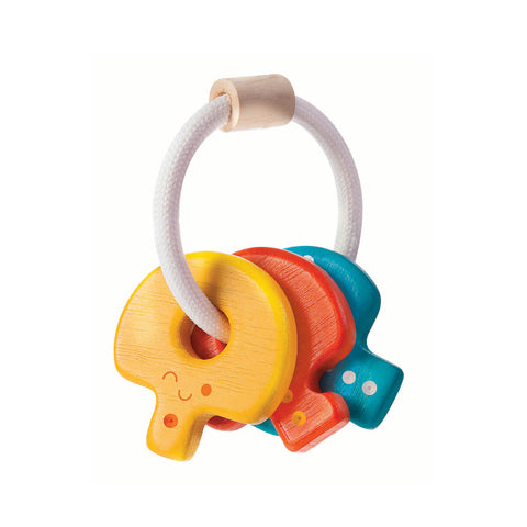 Baby Key Rattle by PlanToys - Junior Edition