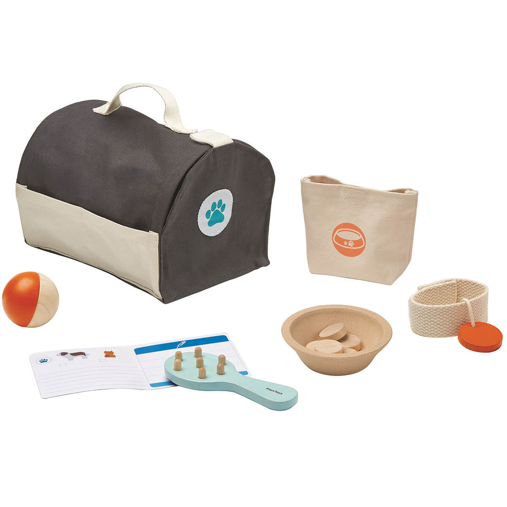 Pet Care Set by PlanToys - Junior Edition
