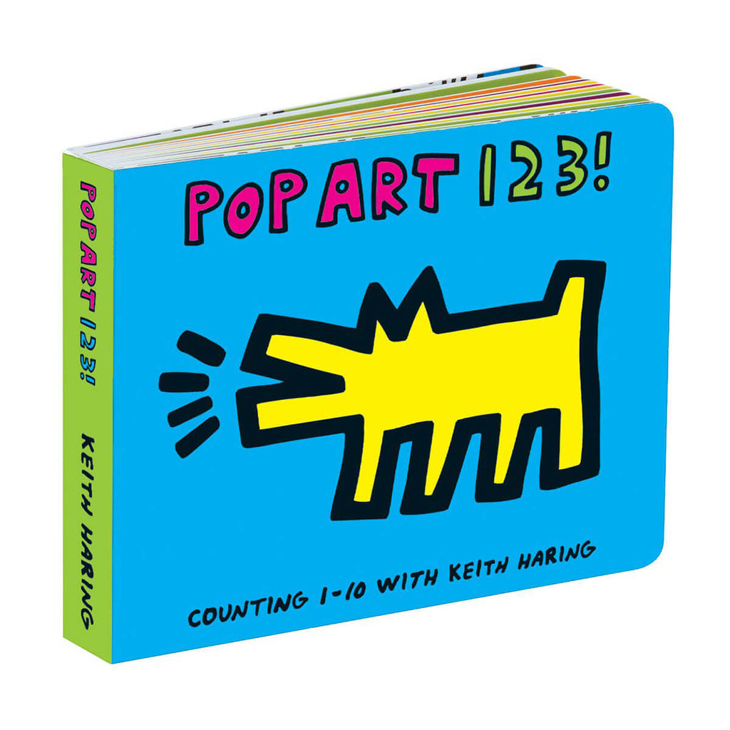 Pop Art 1-2-3 by Mudpuppy and Keith Haring - Junior Edition