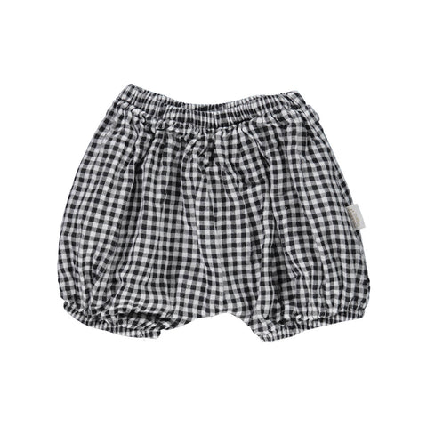 Verbena Organic Cotton Bloomers in Vichy Check by Poudre Organic - Junior Edition