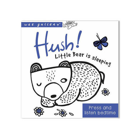 Press And Listen Book: Hush Little Bear Is Sleeping by Surya Sajnani - Junior Edition